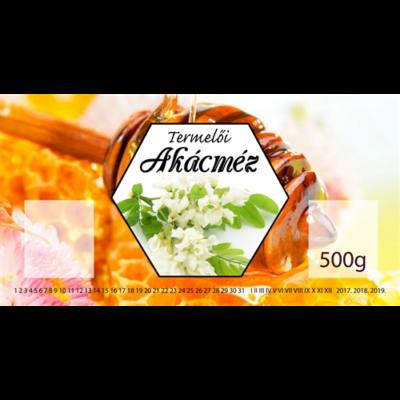 Címke bianco Akác 500g