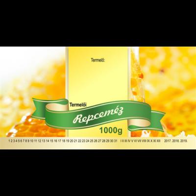 Méhészet Címke bianco Repce 1000 g - akciós