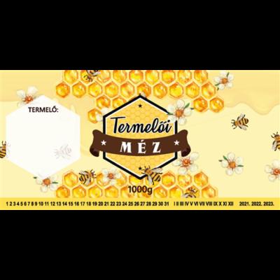 Címke bianco Termelői méz