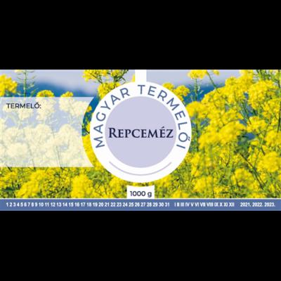 Méhészet Címke bianco Repce 1000g