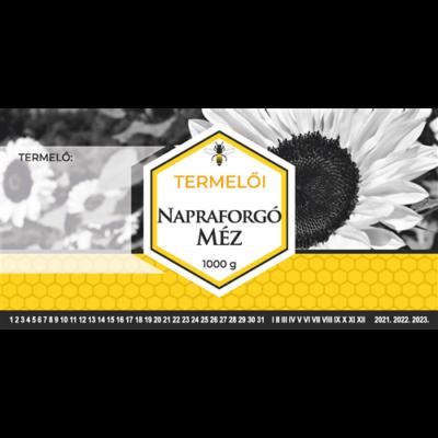 Címke bianco Napraforgó 1000g