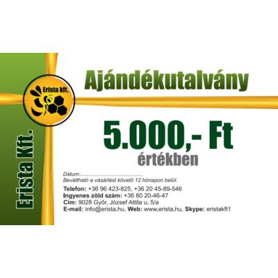 Méhészet Ajándékutalvány 5000